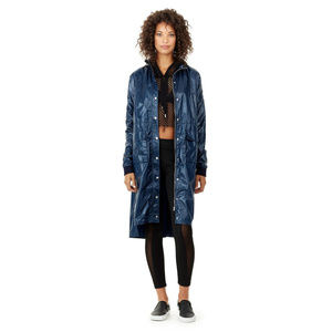 True Religion Women's Hooded Trench Coat Jacket